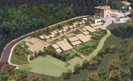 Ampliamento Alberghiero di Villa Tavolese a Marcialla (Certaldo-FI)